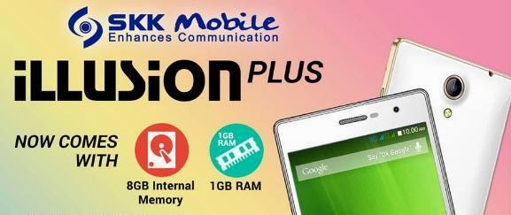 SKK Mobile Unveiled Illusion Plus, 5-inch Quad Core KitKat for Php3,499
