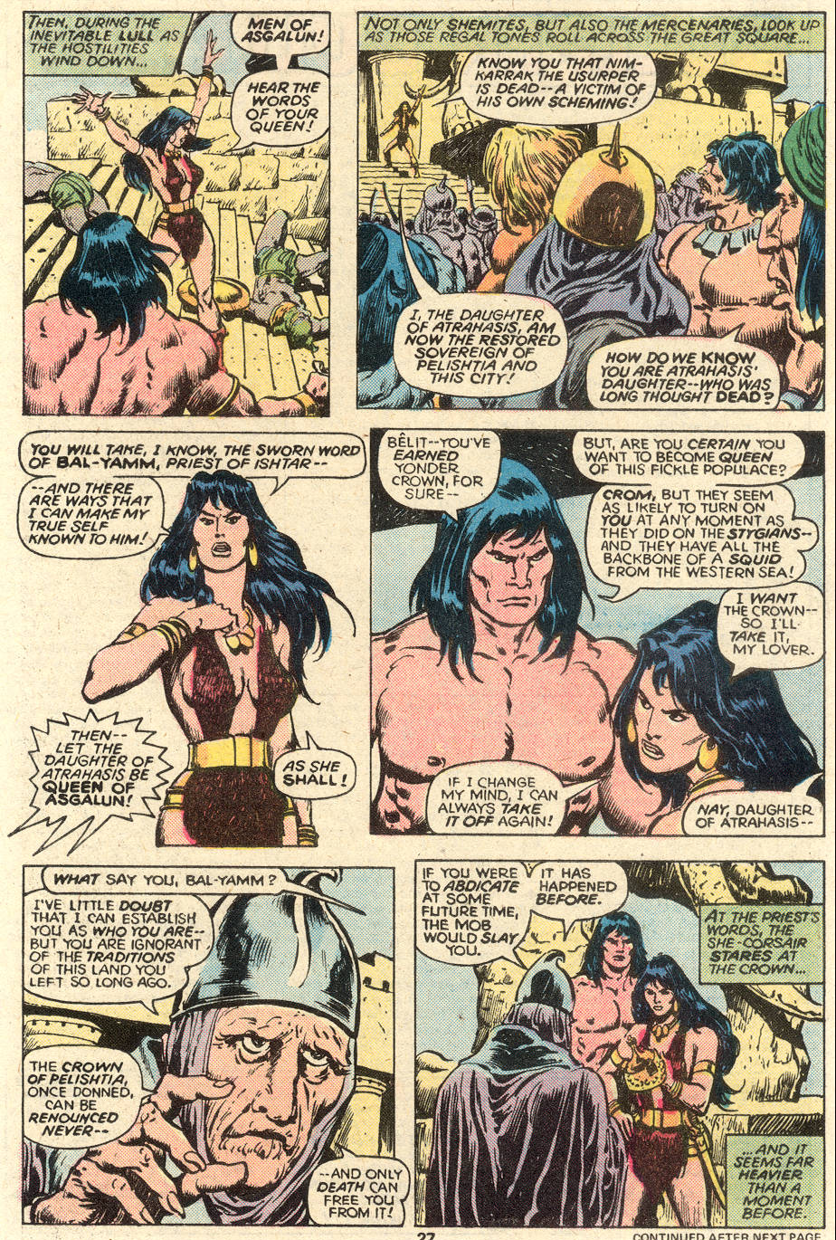Conan the Barbarian (1970) Issue #93 #105 - English 16