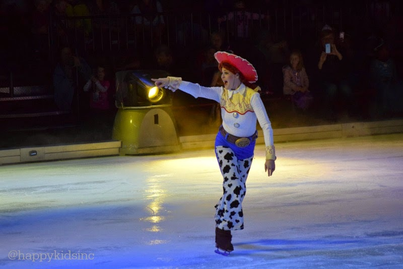 Disney On Ice Let's Celebrate At The Moda Center Jessie Toy Story