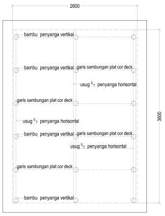 Pemasangan Decking on Cara Menghitung Plat Lantai Beton Floor Deck   Rumahdangriya