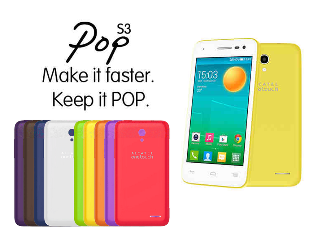 Alcatel Launches OneTouch Pop S3, a  4G LTE Smartphone Priced at Php 6,999