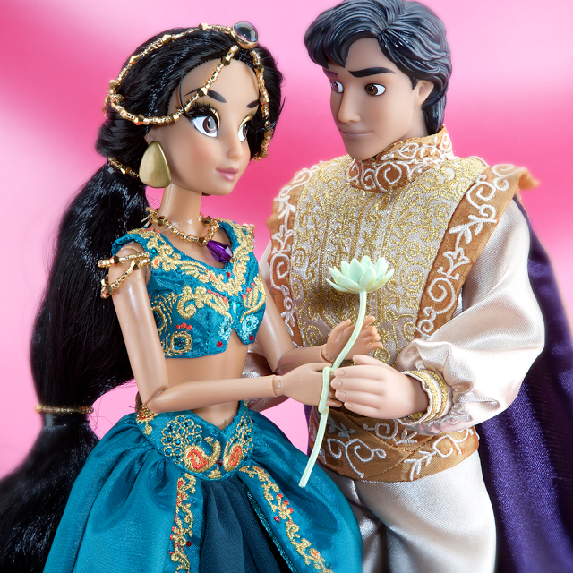 muñeca fairytale jasmine y aladdin