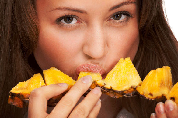 See What Happen to Your Breasts When you Eat Pineapple 3 Times a Day!
