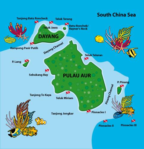 Pulau Aur Johor