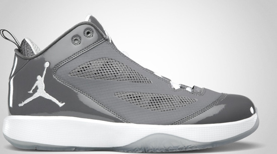 Air Jordan 2011 Q-Flight (08 01 2011) 454486-007 Light Graphite White   120.00 8e2de2e7a81e
