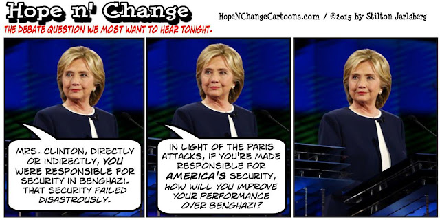 obama, obama jokes, political, humor, cartoon, conservative, hope n' change, hope and change, stilton jarlsberg, terror, paris, hillary, debate, benghazi