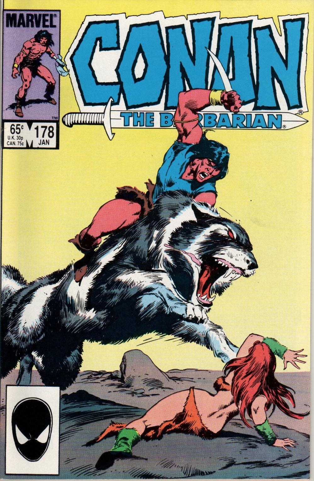Conan the Barbarian (1970) Issue #178 #190 - English 1
