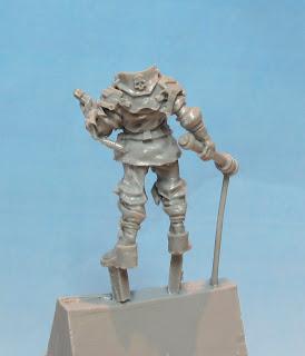 Forgeworld Imperial Enforcer back