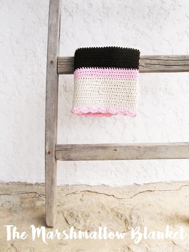 Crochet Pattern For Marshmallow Baby Blanket : CROCHET MARSHMALLOW BLANKET FREE PATTERN - Little Things ...
