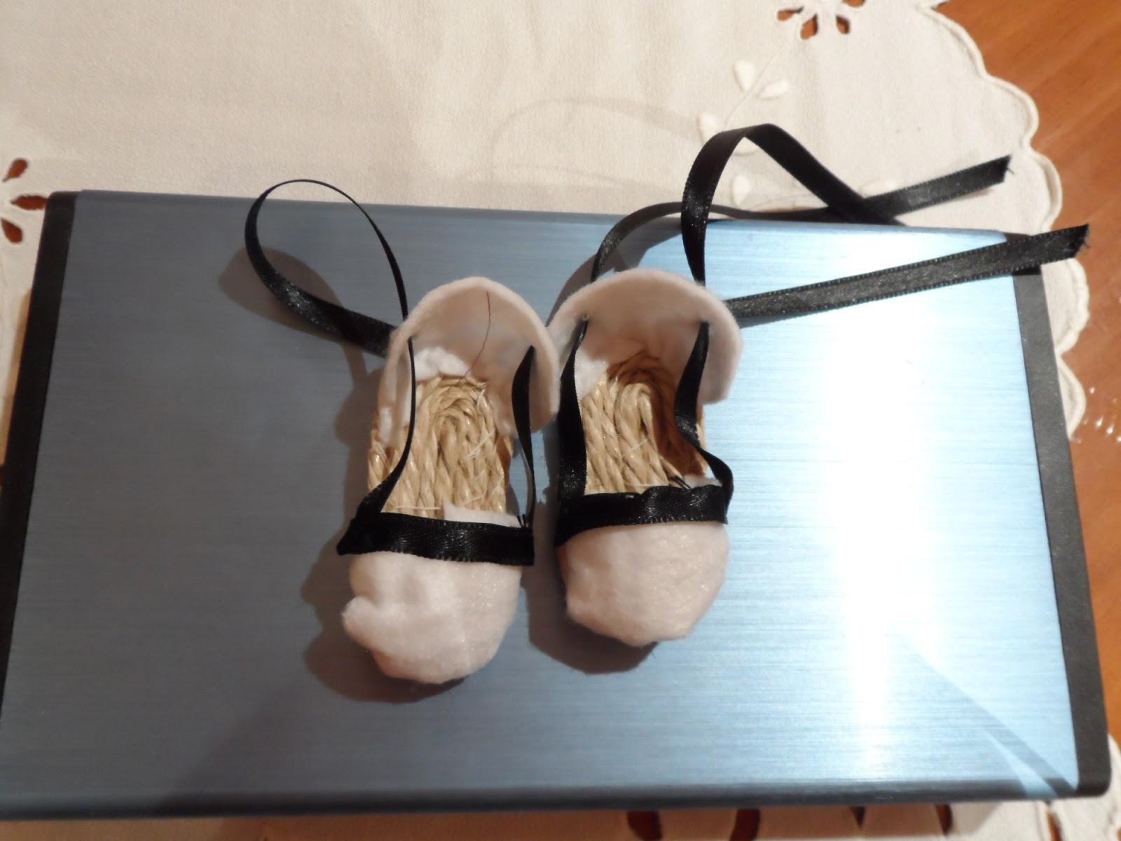 zapatillas de baturros para muñecas