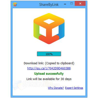 ShareByLink-Cu un simplu click distribui orice fisier