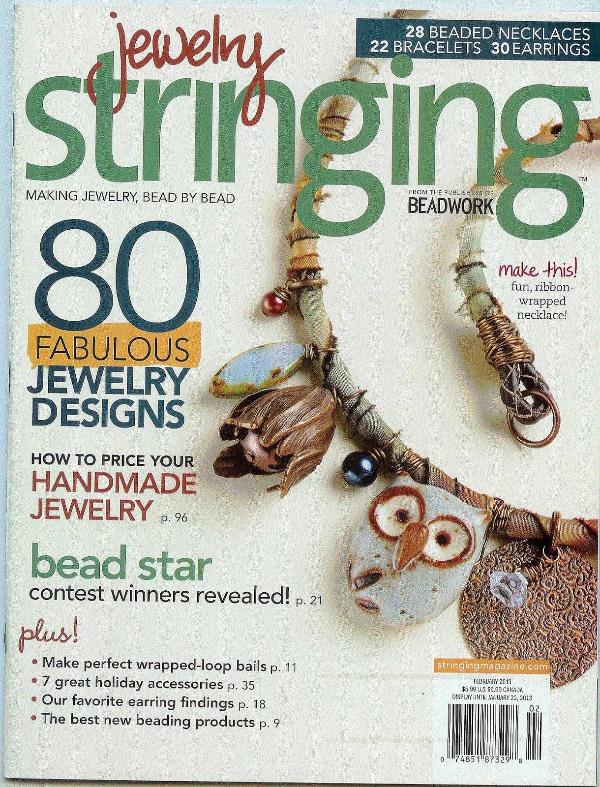 Stringing Beads Magazine Jewelry Stringing Magazine