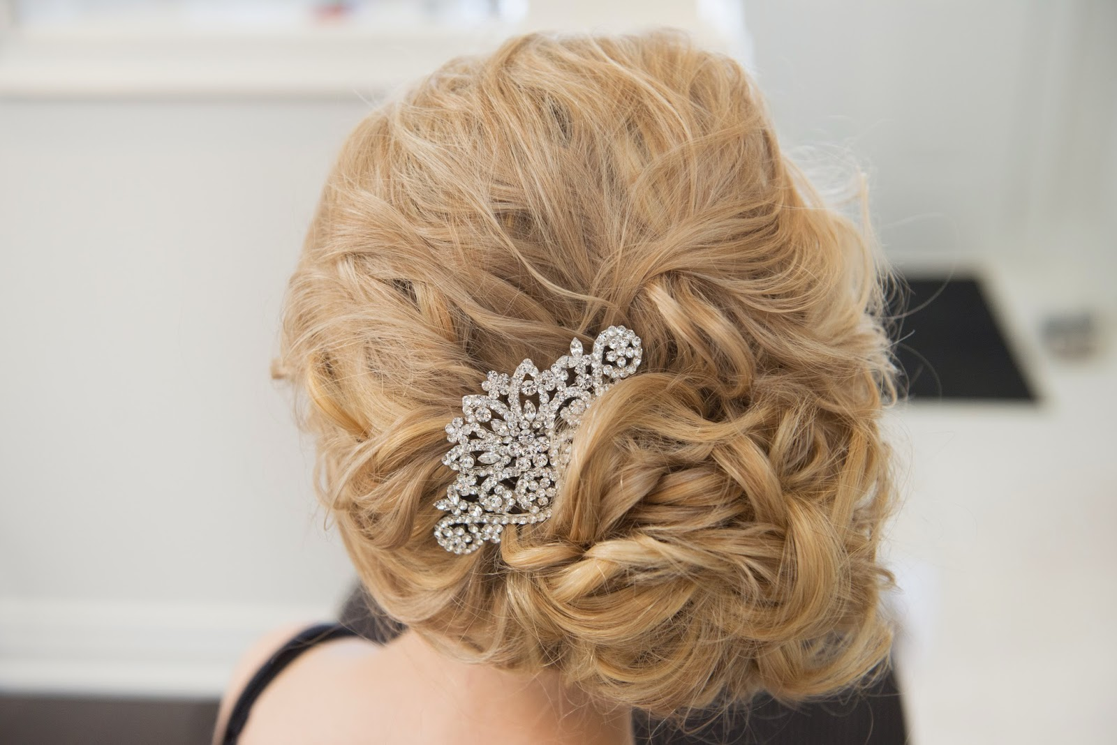 Jessica Jean Myers Adrianna Bridal Updo With Extensions