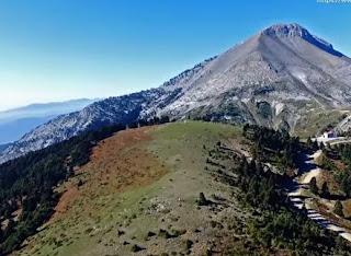 Το επιβλητικό όρος Δίρφυς (1.743m) από ψηλά! [video]