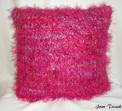 Knifty Knitter Throw Pillow