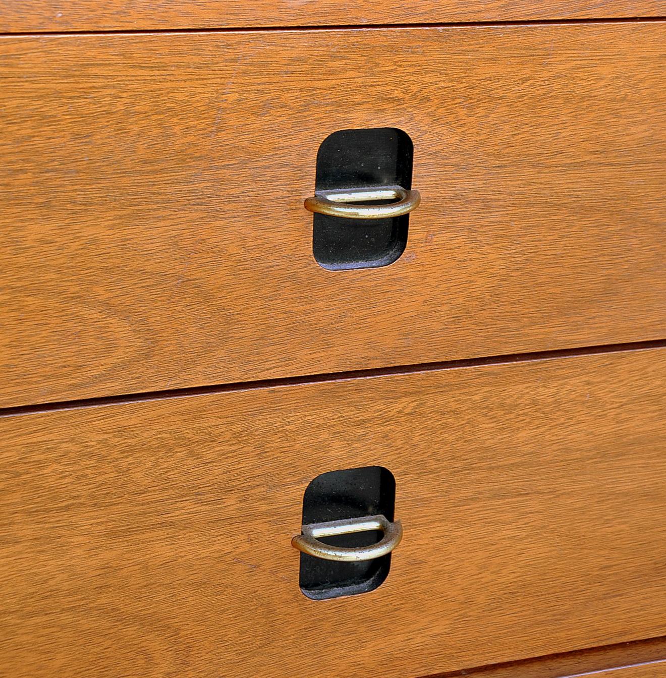Mid Century Modern Bassett Triple Dresser / Credenza