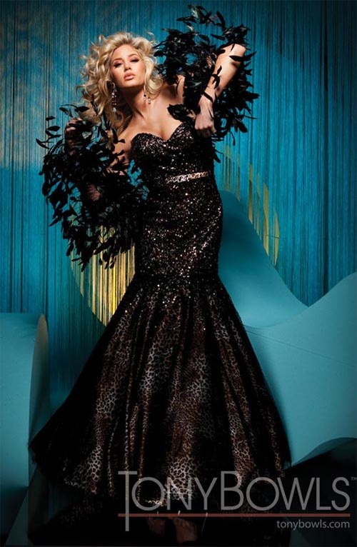 Beautiful Prom Dress Collection By Tony Bowls 2011