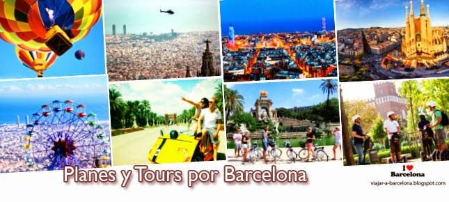 Planes y Tours por Barcelona
