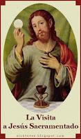 LA ESTACIÓN A JESÚS SACRAMENTADO y la COMUNIÓN ESPIRITUAL