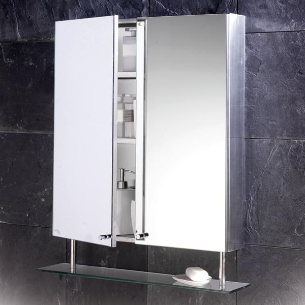 Gostosa Reforma Espelho do Banheiro -> Armario De Banheiro De Parede Com Espelho