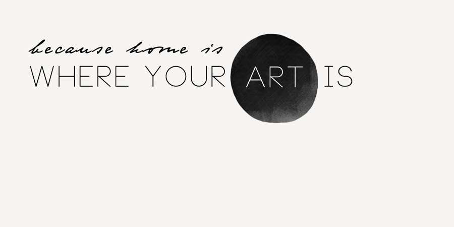 Where your art is