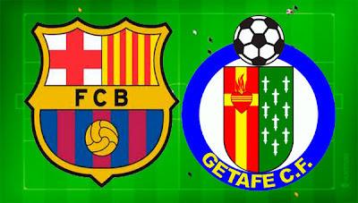 InfoDeportiva - Informacion al instante. FC BARCELONA VS GETAFE. Horarios, Resultados, Estadisticas, Online