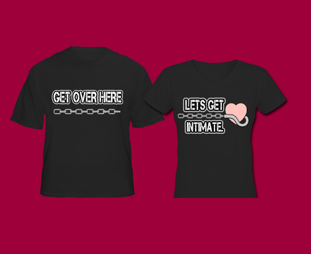 Gamer Couple Shirts Pudge Couple Shirt