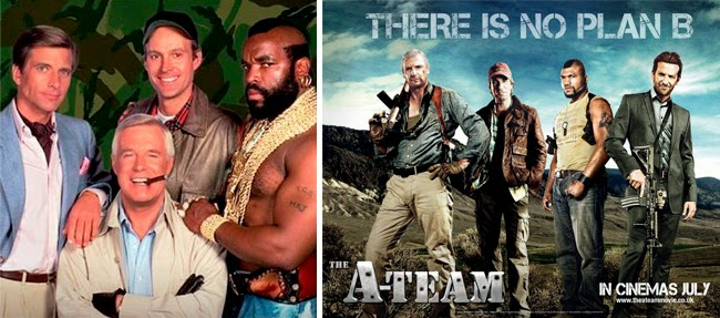 The A-Team, series, movie, sereis convertidas en películas