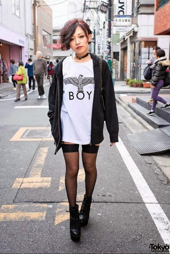 Edgy Street Fashion Yuu