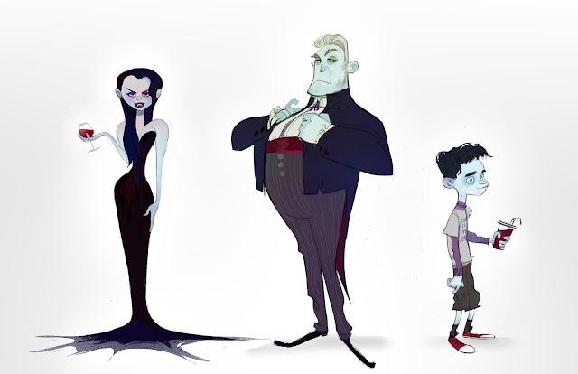 Disney Character Design Internship : Brittany myers art vampires