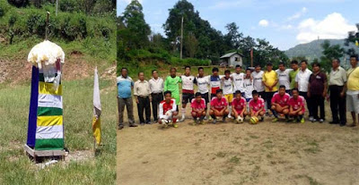 Saheed diwas cum oneday football tournament labdah shanti dhura