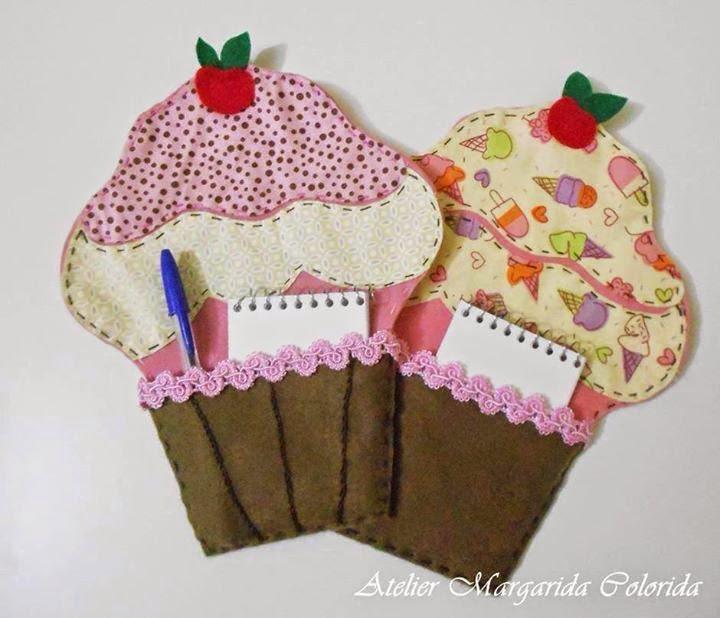 kertih felt craft cup cake