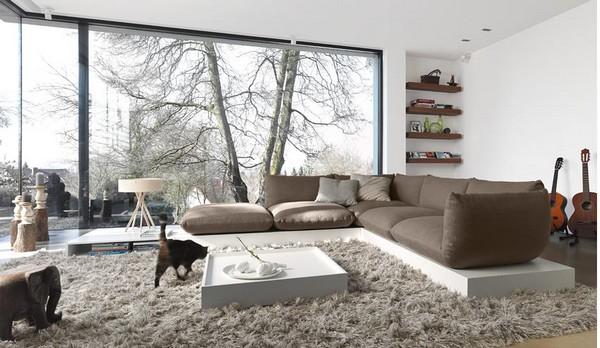 Hermosas salas modernas y elegantes | Ideas para decorar, diseñar y