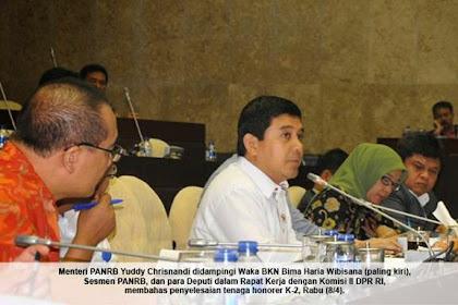 Tes untuk eks Tenaga Honorer K2 rencananya akan dilaksanakan mulai Bulan Agustus 2015