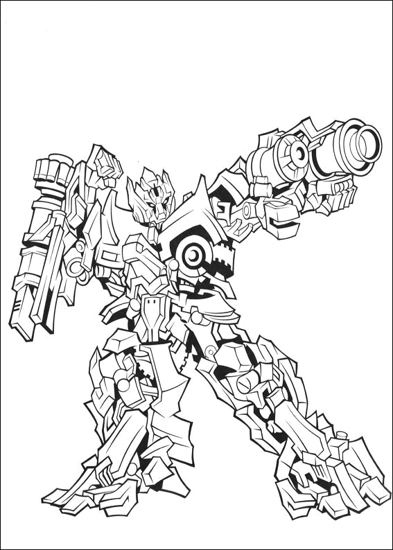 Gambar mewarna - Transformers