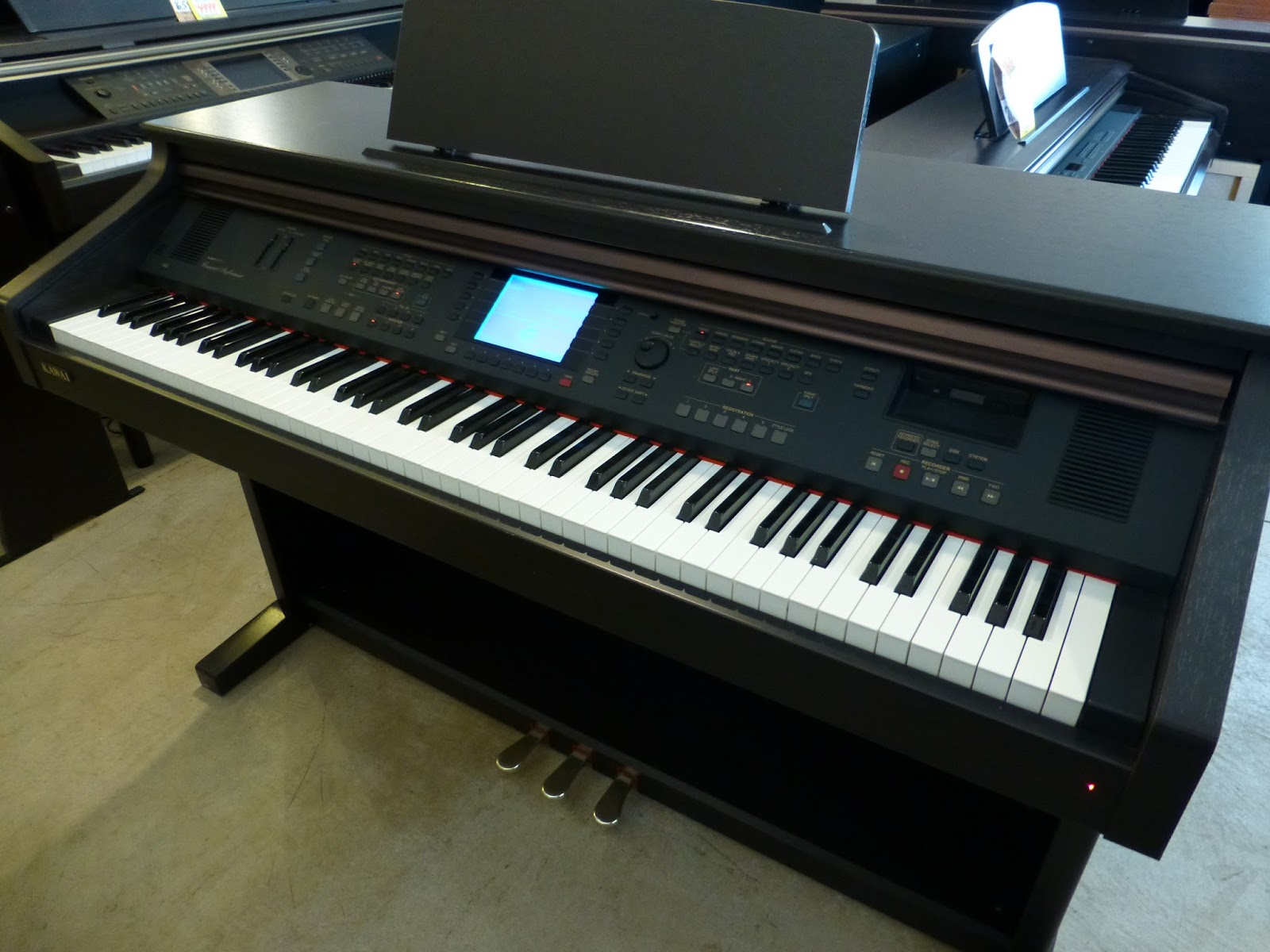 kawai cp 110 digital piano used pianos and keyboards. Black Bedroom Furniture Sets. Home Design Ideas