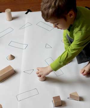 Secuencia sobre cuerpos y figuras geométricas.