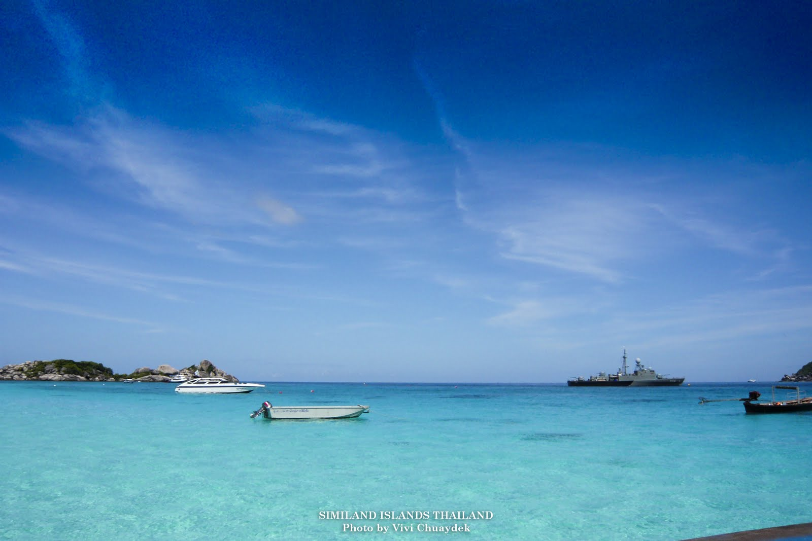 Travel and Photo Blog: Paradise in Thailand: Similan Islands, Phang Nga