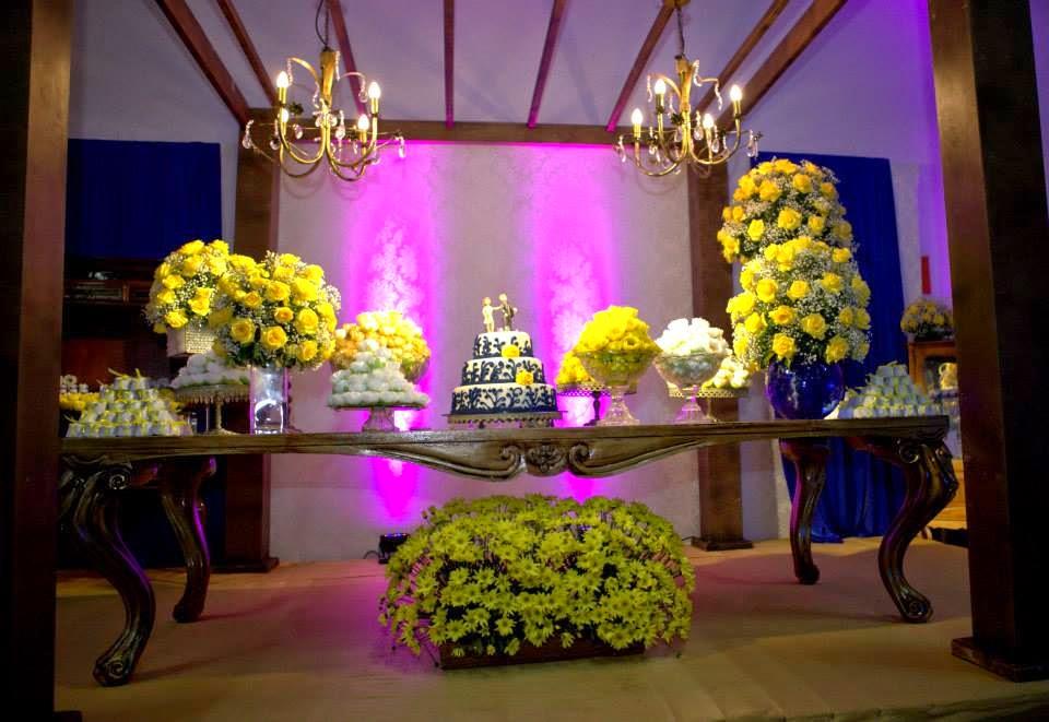 decoracao de festa infantil azul e amarelo: na Real: Casamento Andressa e Rober – Decoração, Buffet e Doces