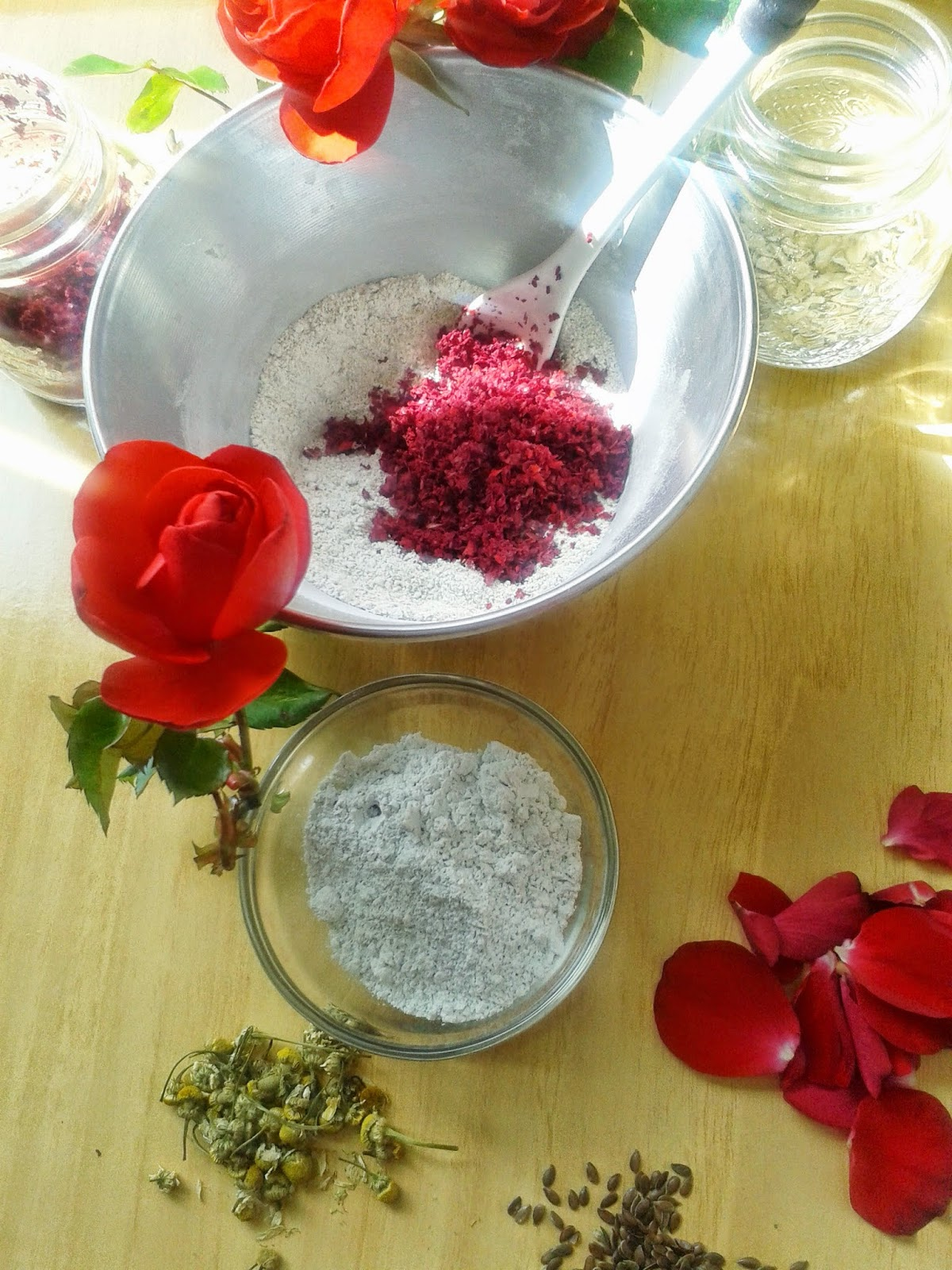 rose cleansing grains