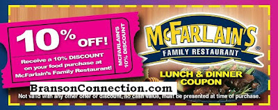 Discount food coupons branson mo