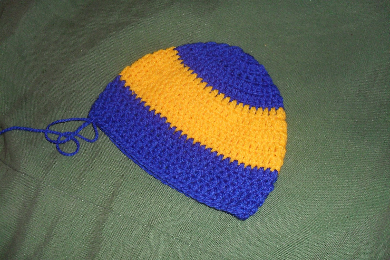 Gorro de Boca Junior ~ Crochet para Ti