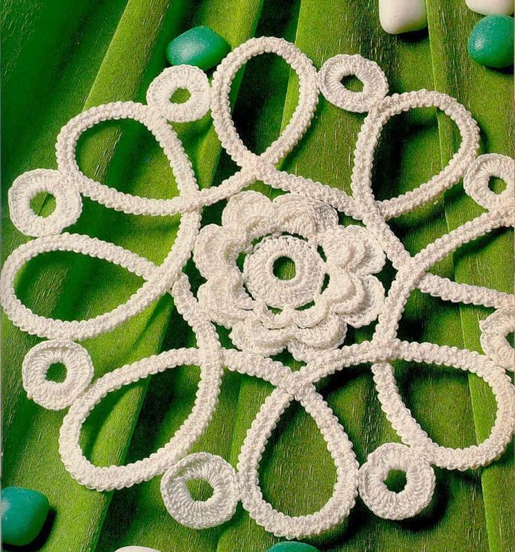 Carpetas y patrones a crochet