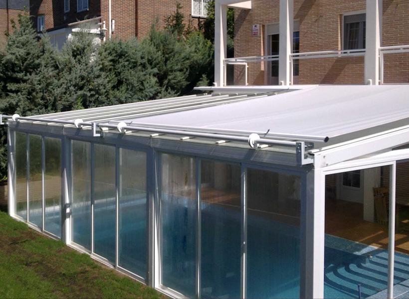 Techos de vidrio para terrazas perfect cortinas de - Vidrios para terrazas ...