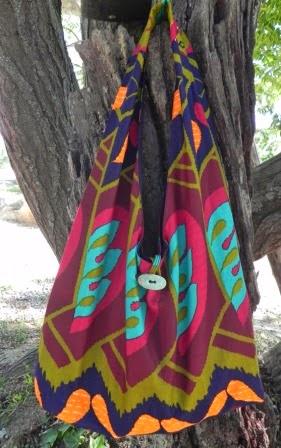 bolsa em tecido africano comprar