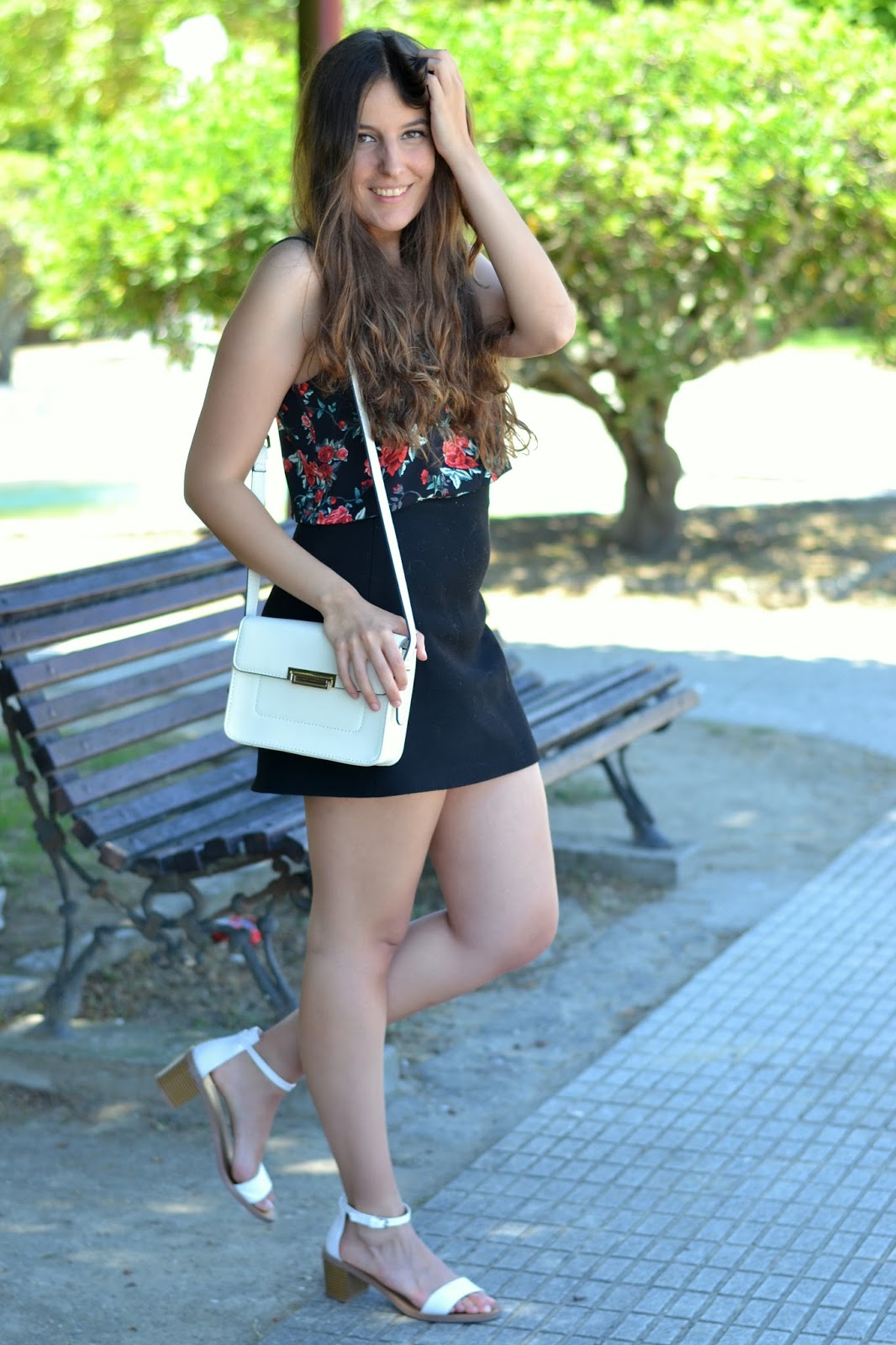 looks bolso blanco