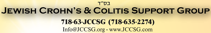 JCCSG ~ Jewish Crohn's & Colitis Support Group