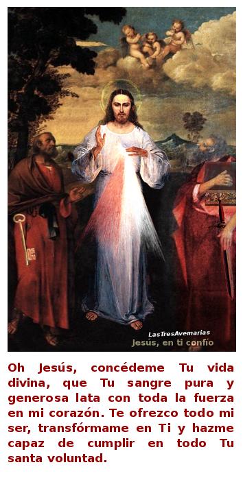 divina misericordia con san pedro y san pablo