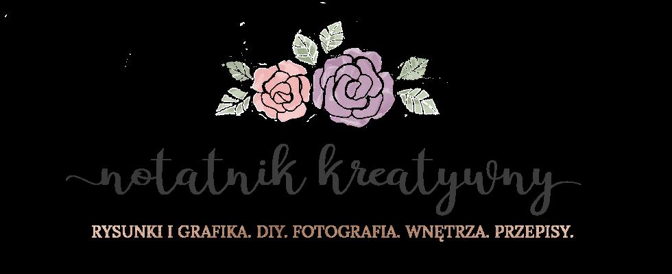 Notatnik Kreatywny | Blog DIY, grafika, rysunki, fotografia, przepisy, wnętrza