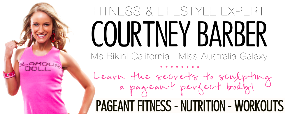 Courtney Barber Pageant Fitness Coach - Pageant Fitness Trainer - Pageant Diet - Pageant Workout